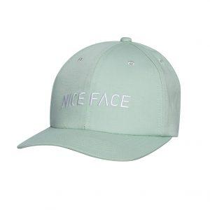 """Nice Face"" Mint Baseball Cap"